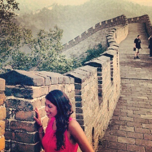 TANAYAS TABLE Travels Great Wall of China Me Beijing
