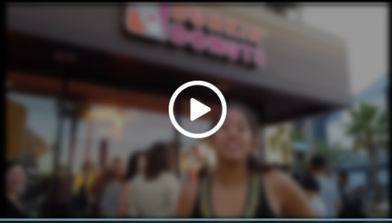 Tanaya's Table - Dunkin Donuts Santa Monica Opening Video