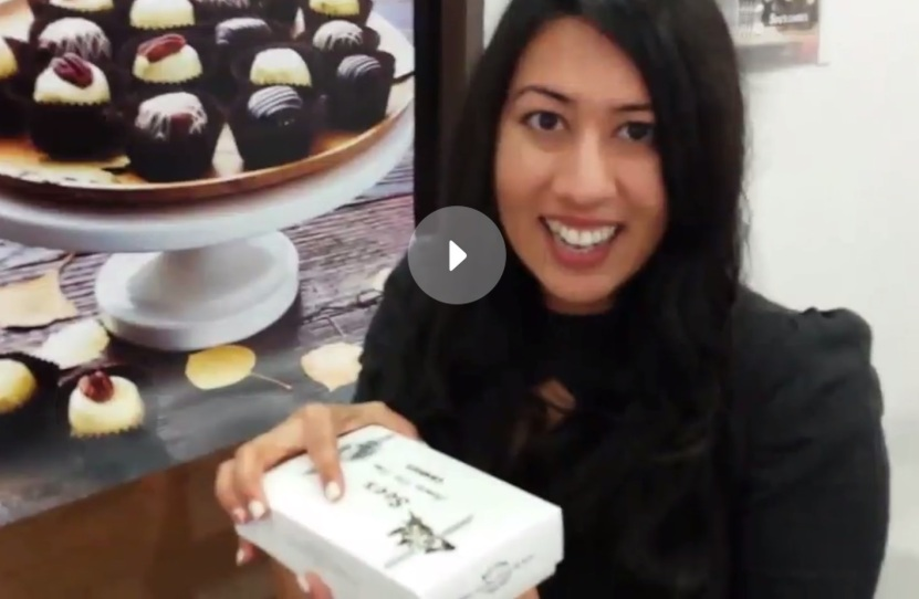 Check out this 1-minute video to go behind the counter with me at the newest See's Candies location!
