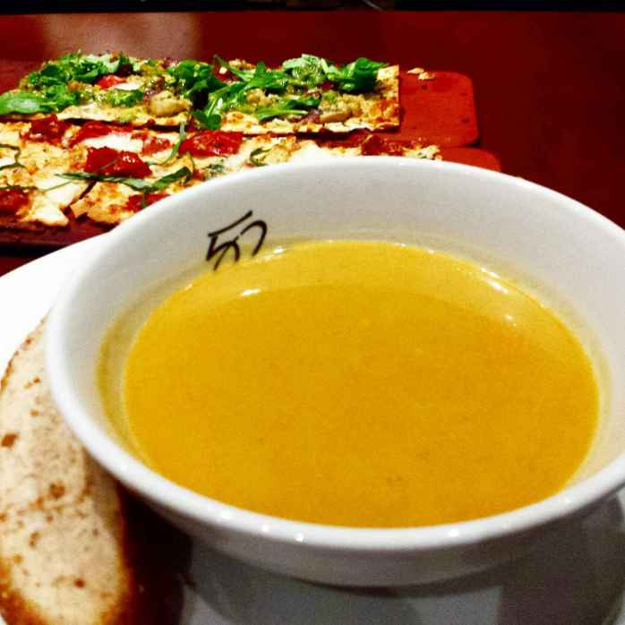 Tanaya's Table Seasons 52 butternut squash soup