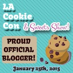 L.A. Cookie Con Official Blogger Badge Tanaya's Table