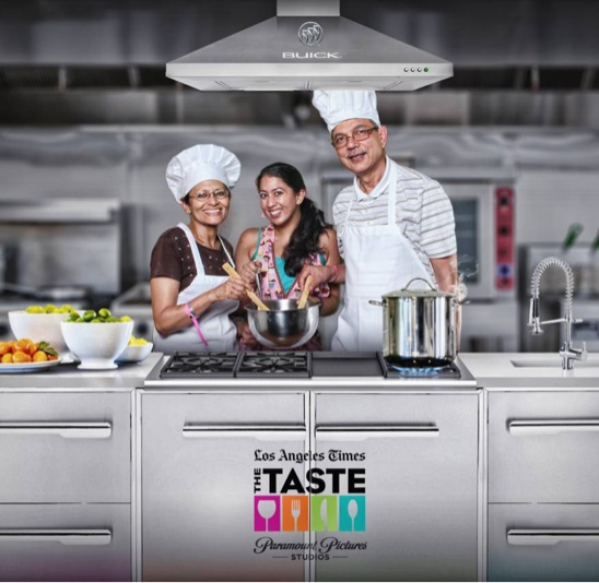 The Taste LA Times Ma Baba Me Family Photo Chefs Cooking - Copy