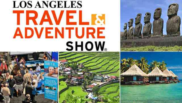 Los Angeles Travel Adventure Show Tanayas Travels