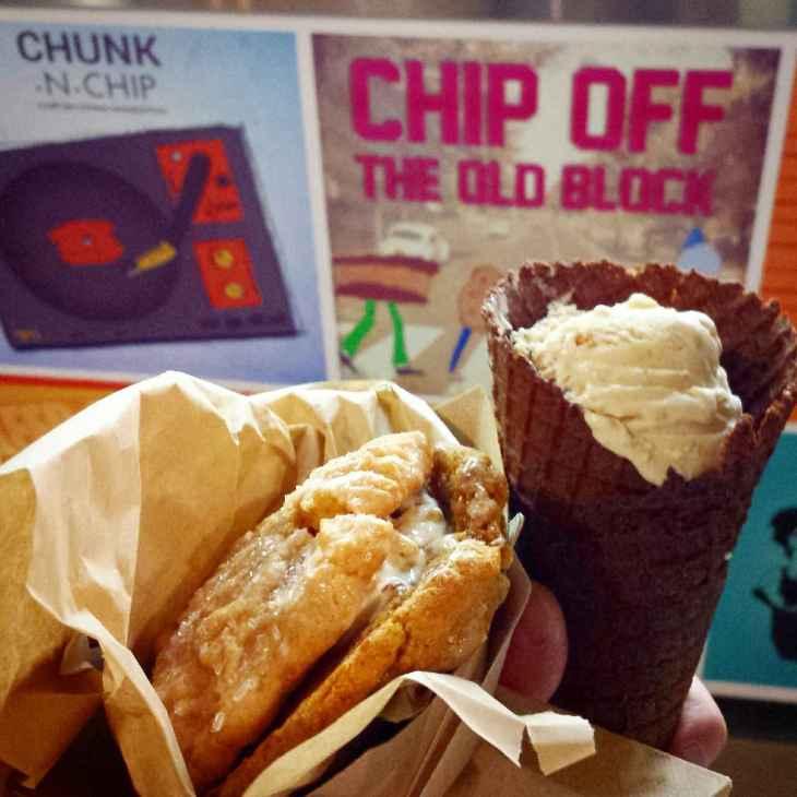 Tanayas Table 4th Street Market Chunk N Chip Ice Cream