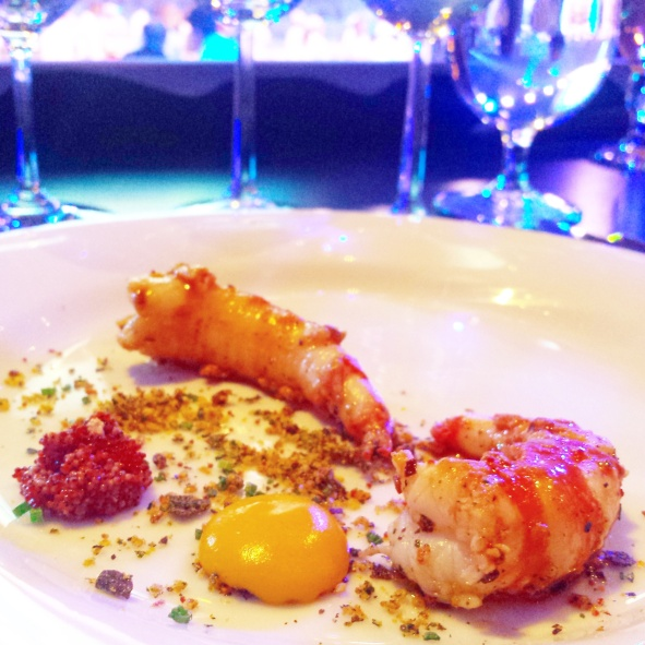 Tanayas Table All Star Chef Classic - 1 Santa Barbara Spot Prawns Michael Cimarusti