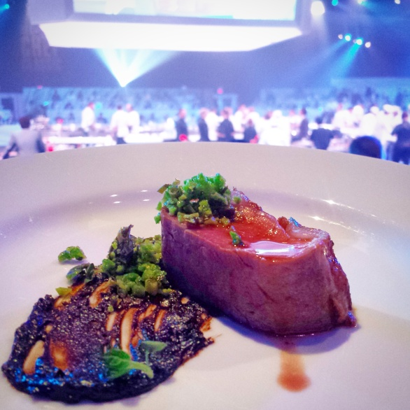 Tanayas Table All Star Chef Classic - 4 Lamb Loin Black Garlic Wylie Dufresne