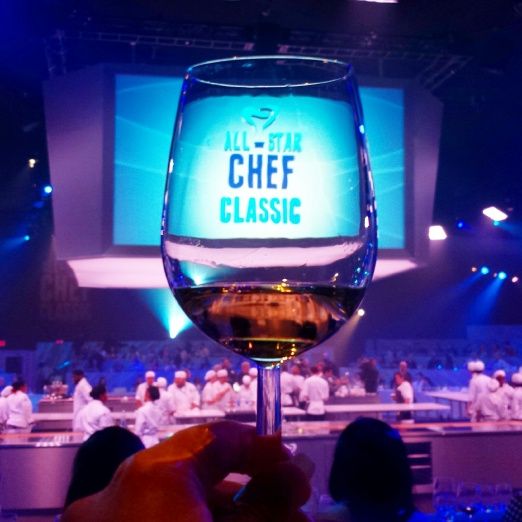Tanayas Table All Star Chef Classic - Wine Glass Logo