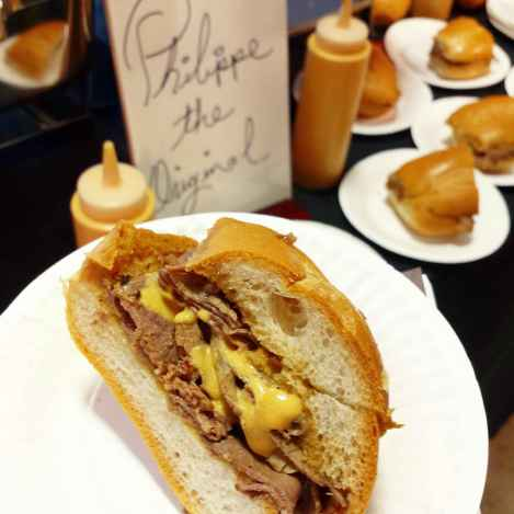 The original French dip by Philippe The Original