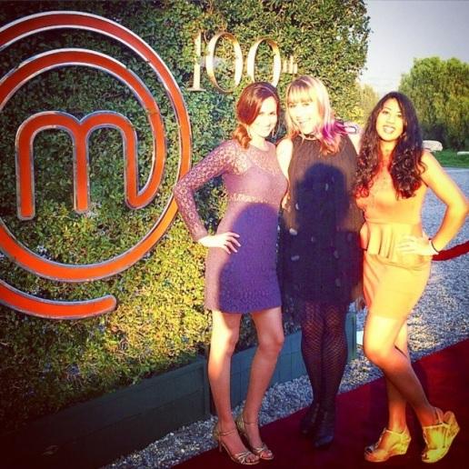 MasterChef red carpet 100th episode fox Tanayas Table
