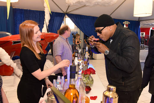 Tanaya's Table GRAMMY LL Cool J Drink WireImage